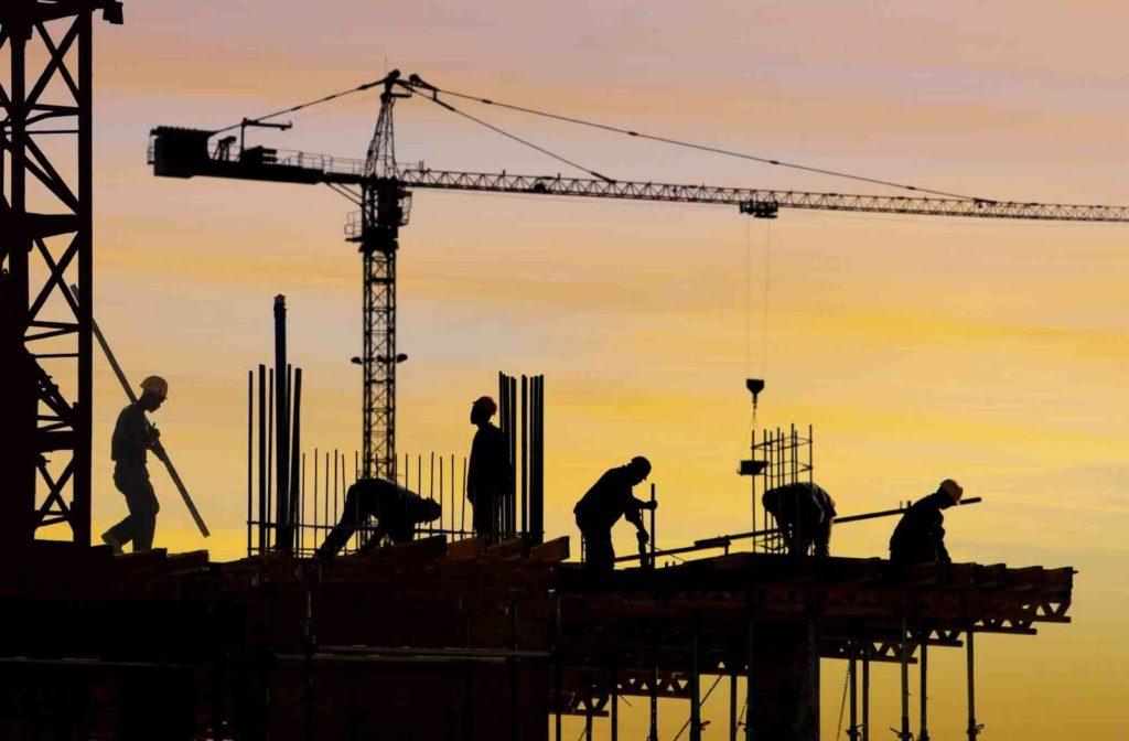 El sector de la construcción alcanza máximos de 2012, con 1,2 millones de trabajadores